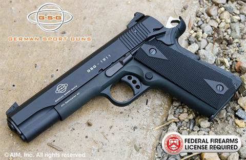 German Sports Guns GSG 1911 .22lr Pistol