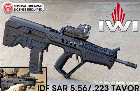 "IWI TAVOR SAR-IDF .223/5.56 Rifle 16.5"" w/ Mepro Reflex Sight"