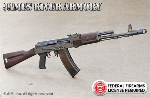 JAMES RIVER ARMORY AK74 5.45X39 Rifle