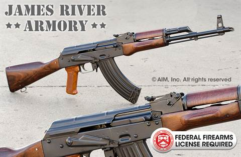 JAMES RIVER ARMORY JRAK47 7.62x39 Rifle