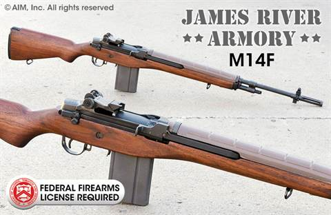 JAMES RIVER ARMORY M14F .308 (7.62x51) Rifle