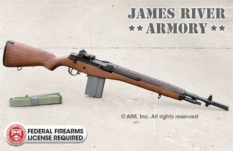 "JAMES RIVER ARMORY M14F .308 (7.62x51) 18.5"" Carbine"