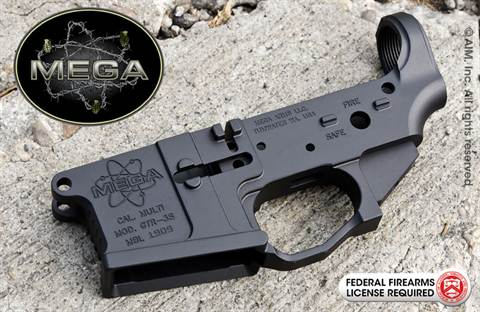 MEGA ARMS Multi. Cal. GTR-3S Billet Lower Receiver