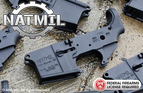 NATMIL AR Multi. Caliber Lower Receiver
