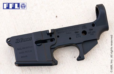 R Guns .223/5.56 AR Receiver