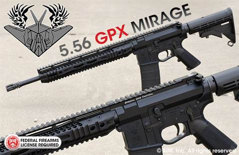 SPECIAL OPS TACTICAL GPX MIRAGE .223/5.56 Billet Rifle