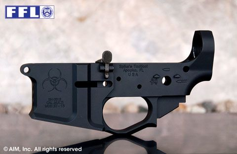 Spike's Tactical ST-15 Multi-Cal. Billet Lower Receiver