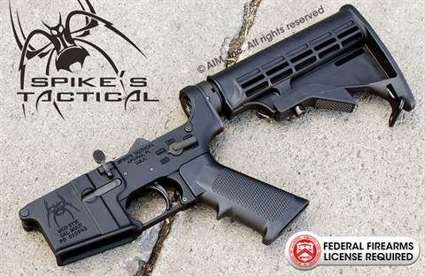 Spike's Tactical ST-15 LE Multi. Cal. AR Lower Rifle Receiver Group