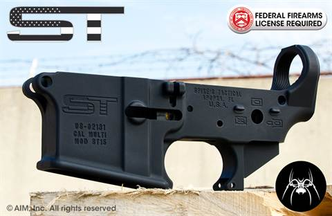 Spike's Tactical Multi. Caliber FLAG AR Lower Recevier BLEM