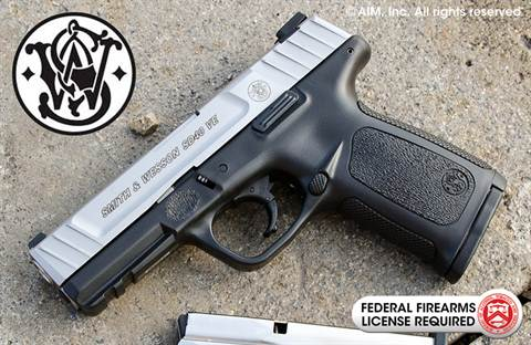 Smith & Wesson Model SD40 VE .40 S&W Handgun
