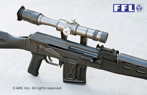 TGI Inc. Romanian FPK 7.62x54R Rifle