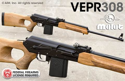 "Russian VEPR .308 23"" Rifles"