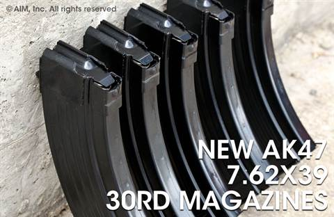 Croatian Steel AK47 Magazines 30rd 7.62x39