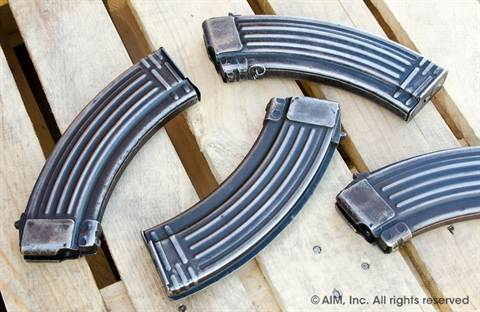 Surplus European Steel AK47 7.62x39 30rd Magazines
