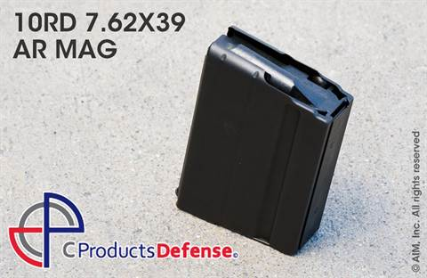 C Products Defense 10rd 7.62x39 SS AR Magazine