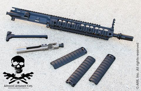 "AAC 12.5"" .300 BLACKOUT Upper Receiver"