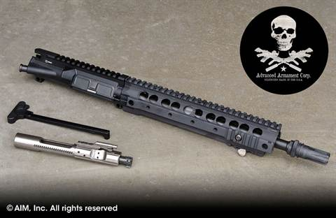 "AAC 12.5"" .300 BLACKOUT Pistol/NFA Upper Receiver"