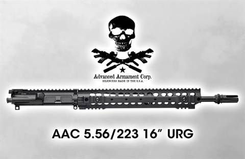 "Advanced Armament Corporation 16"" 5.56/223 Upper Receiver Group"