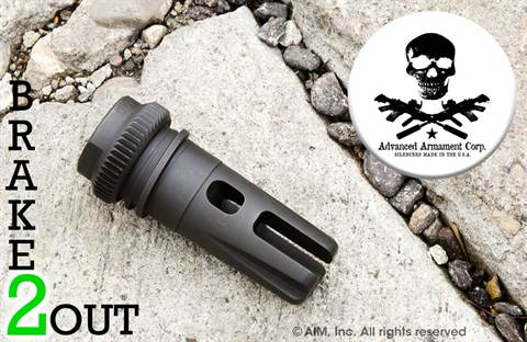 AAC BRAKEOUT 2 5.56 Flash Hiding Compensator