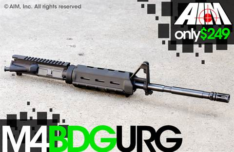 AIM 5.56/.223 M4 BDG Upper Receiver Group