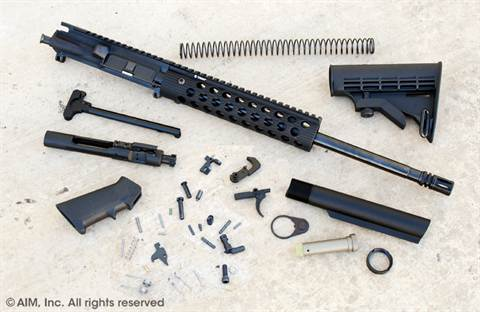 ATI AR SOCOM Troy Alpha Rail Rifle Parts Kit