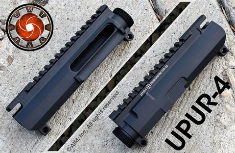 CMT UPUR-4 Billet Slick Side Upper Receiver with Dust Cover Port
