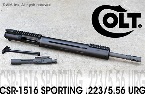 COLT Sporting CSR-1516 .223/5.56 Upper Receiver Group