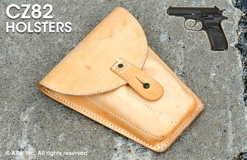 Original Czech CZ82 Leather Holster
