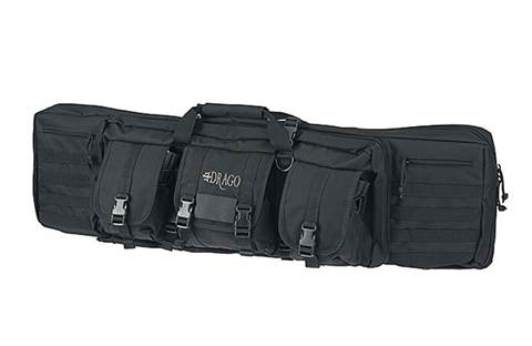 "Drago Gear 42"" Double Gun Case Black"