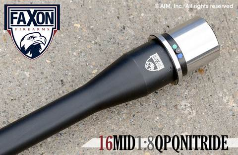 "FAXON Firearms 16"" 5.56 NATO Mid-Length  AR Barrel"