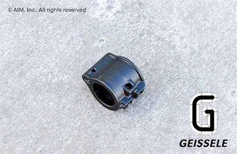 "GEISSELE SGB Carbon Steel .750"" Low Profile Gas Block"