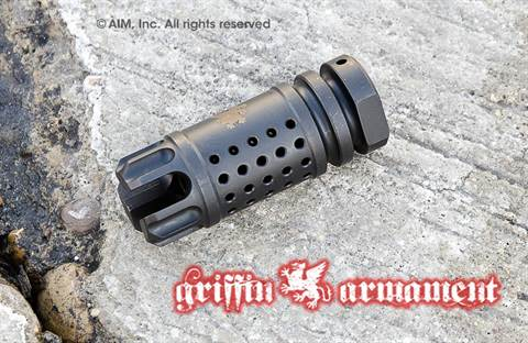 Griffin Armament M4SD-II Flash Comp .223/5.56 Muzzle Device