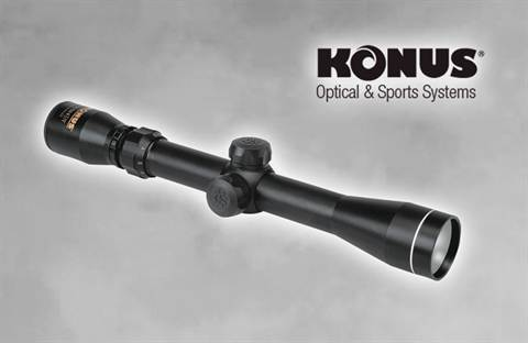 KONUS SHOT ZOOM 3-9 X 32 Rifle Scope
