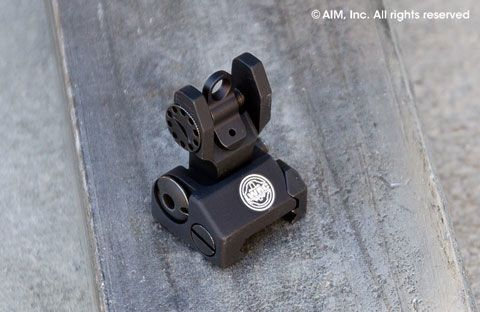 LWRC Troy Ind. Rear Folding Battle Sight