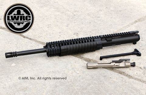 "LWRC Int. 14.7"" M6 A2 5.56/.223 Piston Upper Receiver"