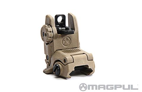 Magpul Gen. 2 MBUS Back-Up Rear Sight Dark Earth