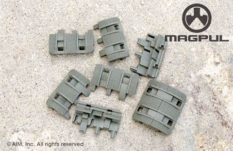 Magpul XTM Enhanced Rail Panels Foliage Green
