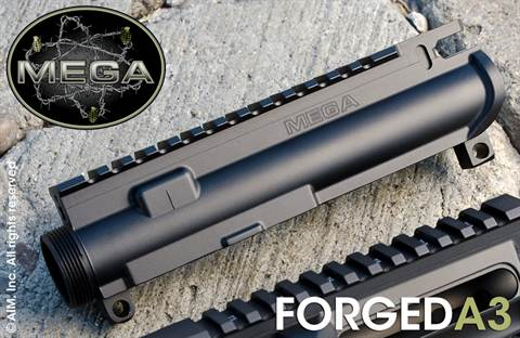 MEGA ARMS Forged A3 Upper Receiver