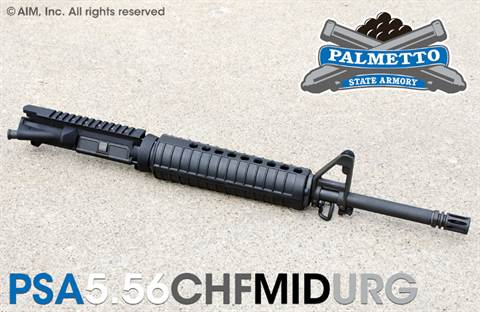 PSA CHF MID-Length 5.56/.223 Upper Receiver Group