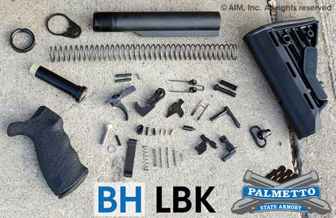 PSA P-Tac AR Lower Build Kit w/ BLACKHAWK Ergo Grip and Stock