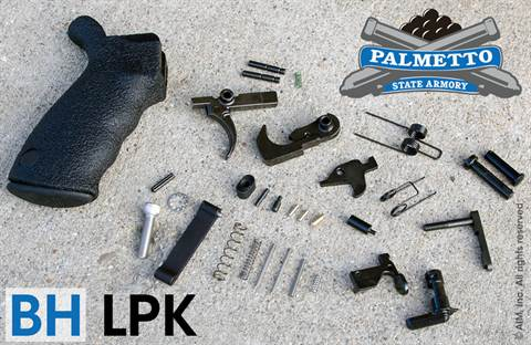 PSA P-Tac AR Lower Parts Kit w/ BLACKHAWK Ergo Grip