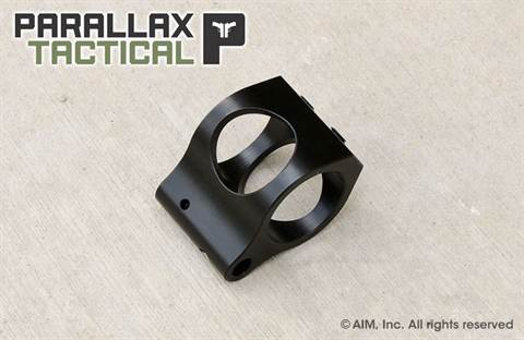 Parallax Tactical PXT Super Light Low Profile .750 Lightweight Gas Block
