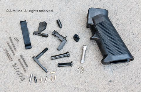Spike's Tactical Lower Receiver Parts Kit w/ No Trigger/Hammer