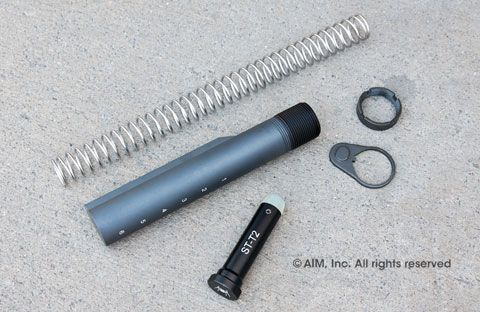 Spike's Tactical 6-Position Mil.-Spec. Buffer tube kit