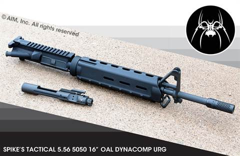 "Spikes Tactical 14.5"" Lightweight 5.56/.223 DynaComp Upper Receiver"