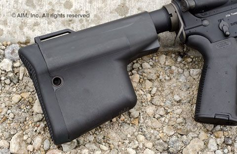 Troy Ind. Battle Ax CQB Light Weight Stock Black