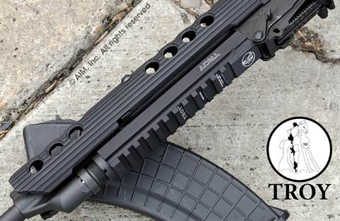 Troy Industries AK Top Rail Mounting System