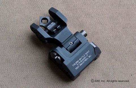 Troy Ind.  Rear Di-Optic (DOA) Flip Up Sight