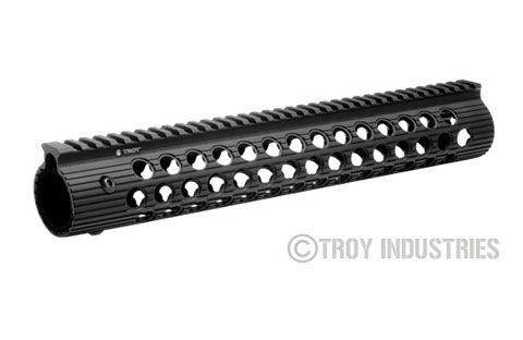 "Troy Ind. 13"" Alpha Battle Rail Black"