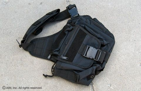 UTG Multi-Function Tactical Messenger Bag Black